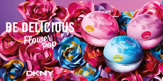 DKNY Be Delicious Flower Pop Collection
